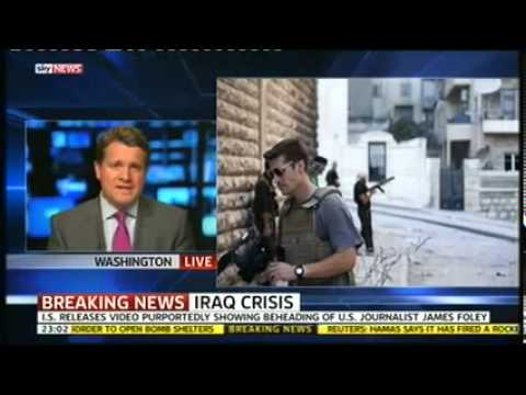 James Foley (US Journalist) beheaded by ISIS terrorists in Iraq