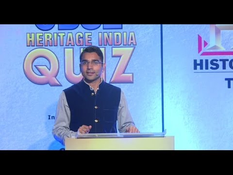 CBSE Heritage India Quiz 2015 Semi Final 1 on HistoryTV18 (Ajay Poonia)
