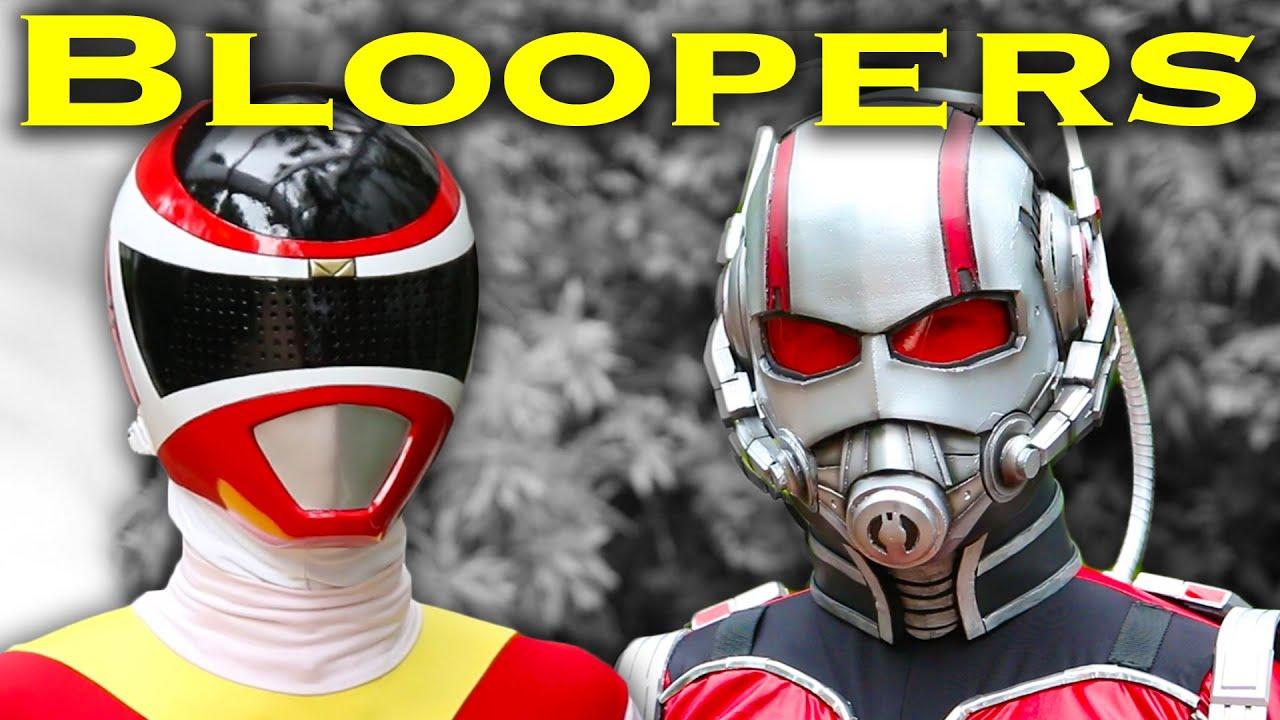 Power Ranger vs. Ant-Man [BLOOPERS] Power Rangers | Marvel