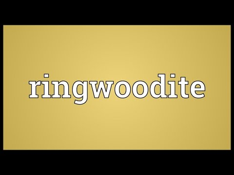 Ringwoodite Meaning