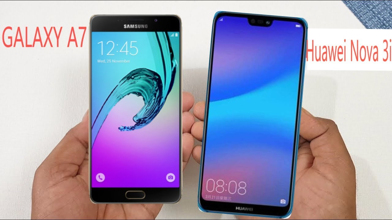 Samsung Galaxy A7 2018 vs Huawei Nova 3i | Which one is Better? | Comparison