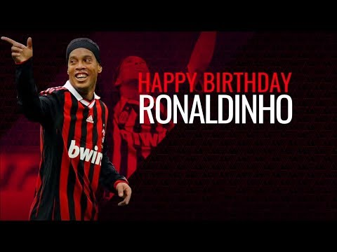 Ronaldinho best skills with AC Milan