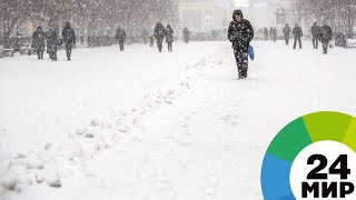 Ураган оставил без крыш школы Алматы - МИР 24