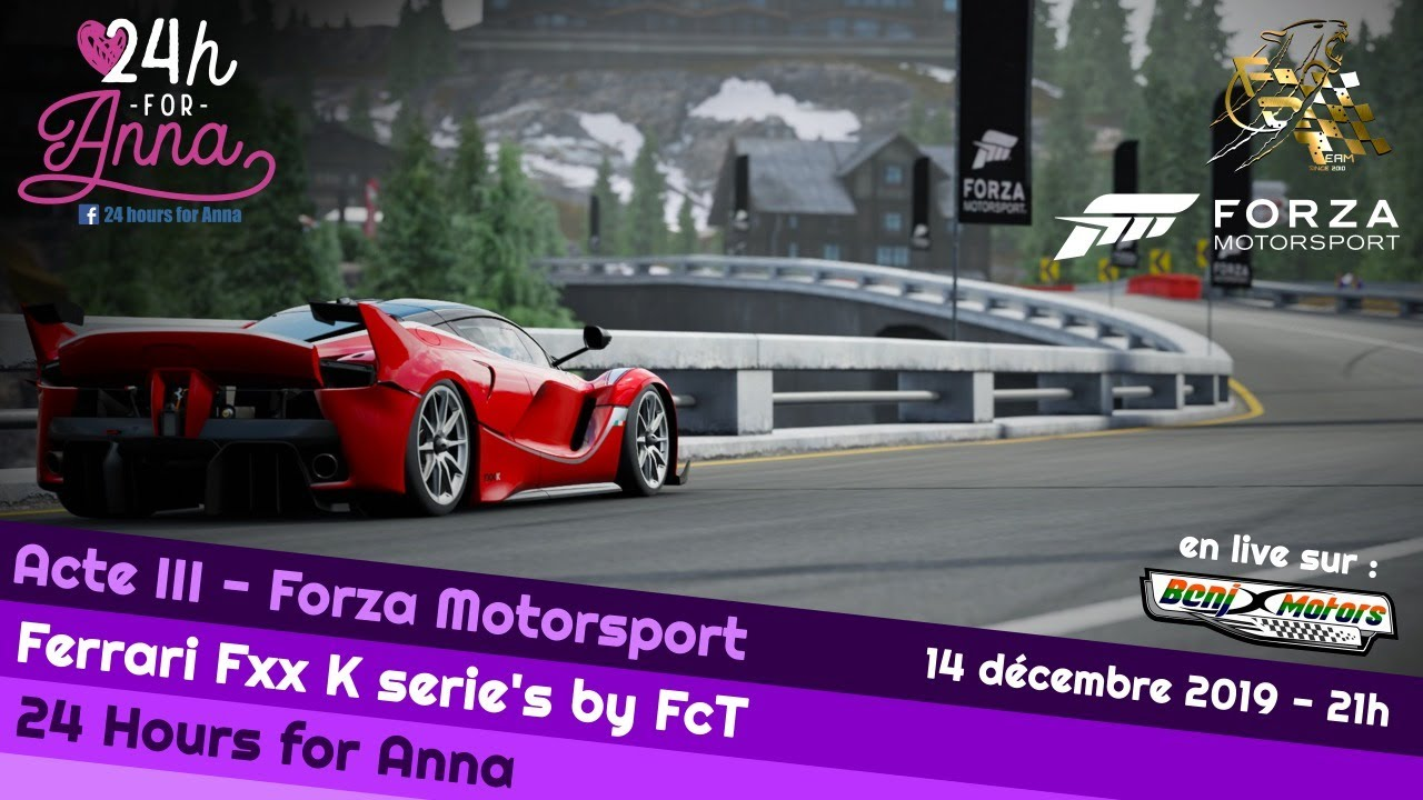 Fm7 24 Hours For Anna 2020 Acte Iii Ferrari Fxxk Series By Fct