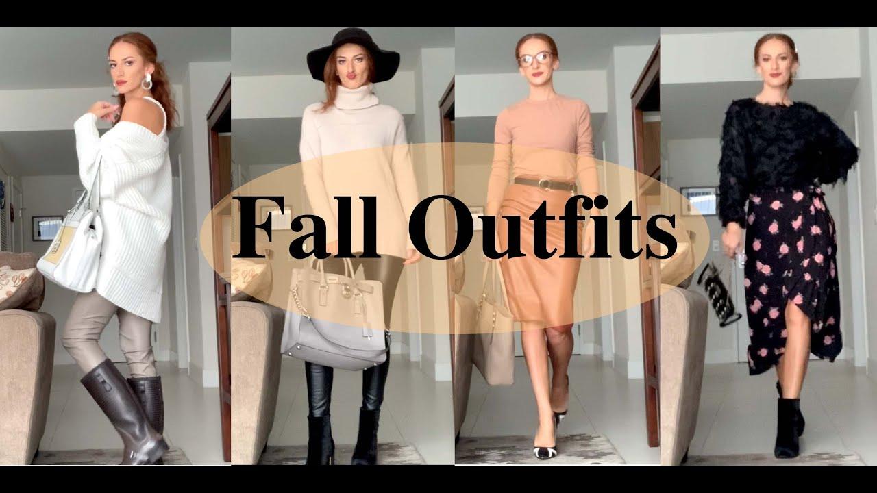 კოლაბორაცია! Fall Outfits ქართველ ბლოგერებთან ერთად /Nanka Rusalka