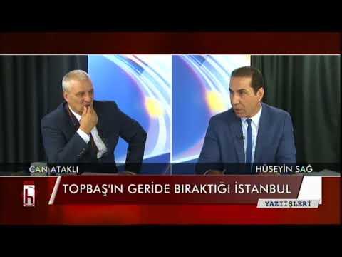 Topbaş'ın geride bıraktığı İstanbul - 04.10.2017 Can ataklı ile Yazı İşleri 1. Bölüm