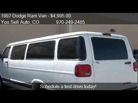 1997 Dodge Ram Van 3500 Maxi Passenger Van  for sale in Mo  YouTube
