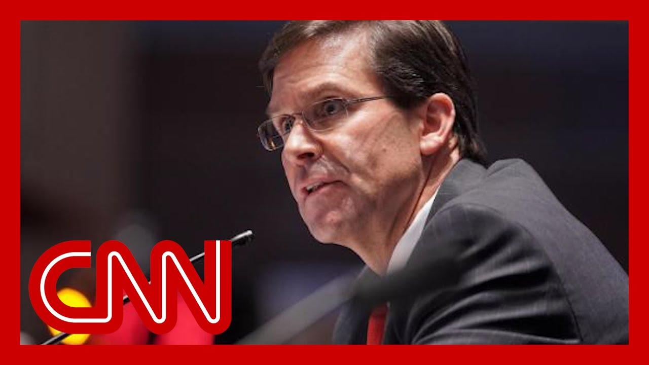 Mark Esper fired as defense secretary