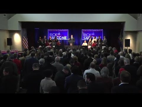 LIVE: Vice President Mike Pence holds rally for Rick Saccone