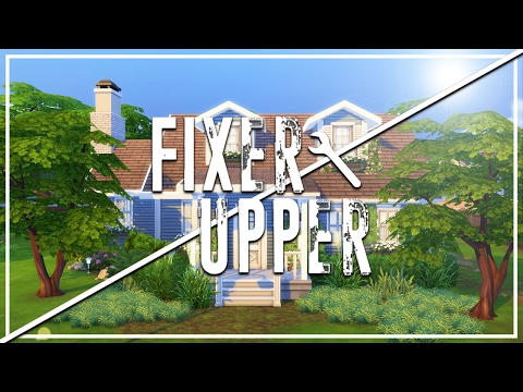 The Sims 4: Fixer Upper - Home Renovation | Broken Blue Bungalow