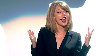 Taylor Swift's SEXY Brit Awards Performance | What's Trending Now