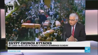 Egypt Church Attacks    the target is to divide Muslims and Christians