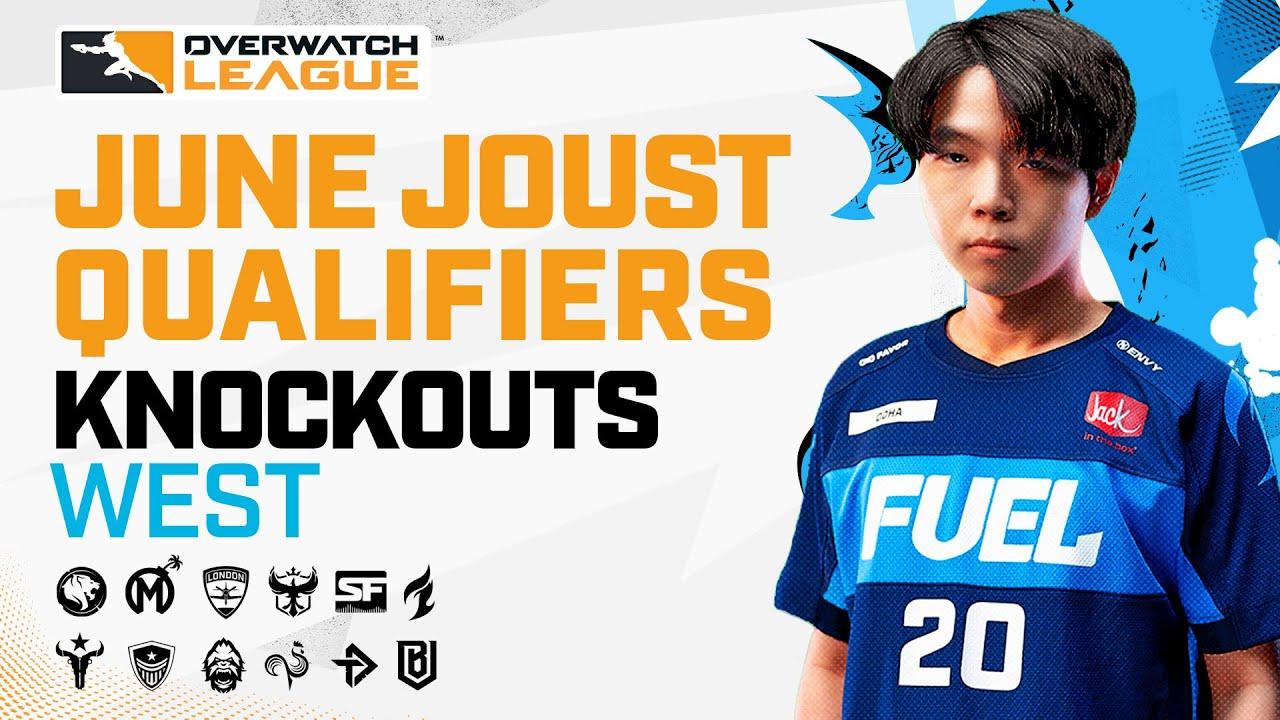 Overwatch League 2021 Season | June Joust Qualifiers | Knockouts — West