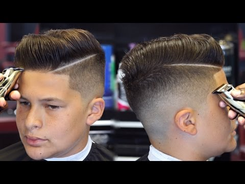 FULL LENGTH: HAIRCUT TUTORIAL on How To Do A Contour Fade HD