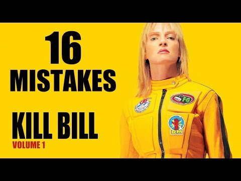 Biggest KILL BILL VOL. 1 Movie and Fails You Didn't Notice Facts