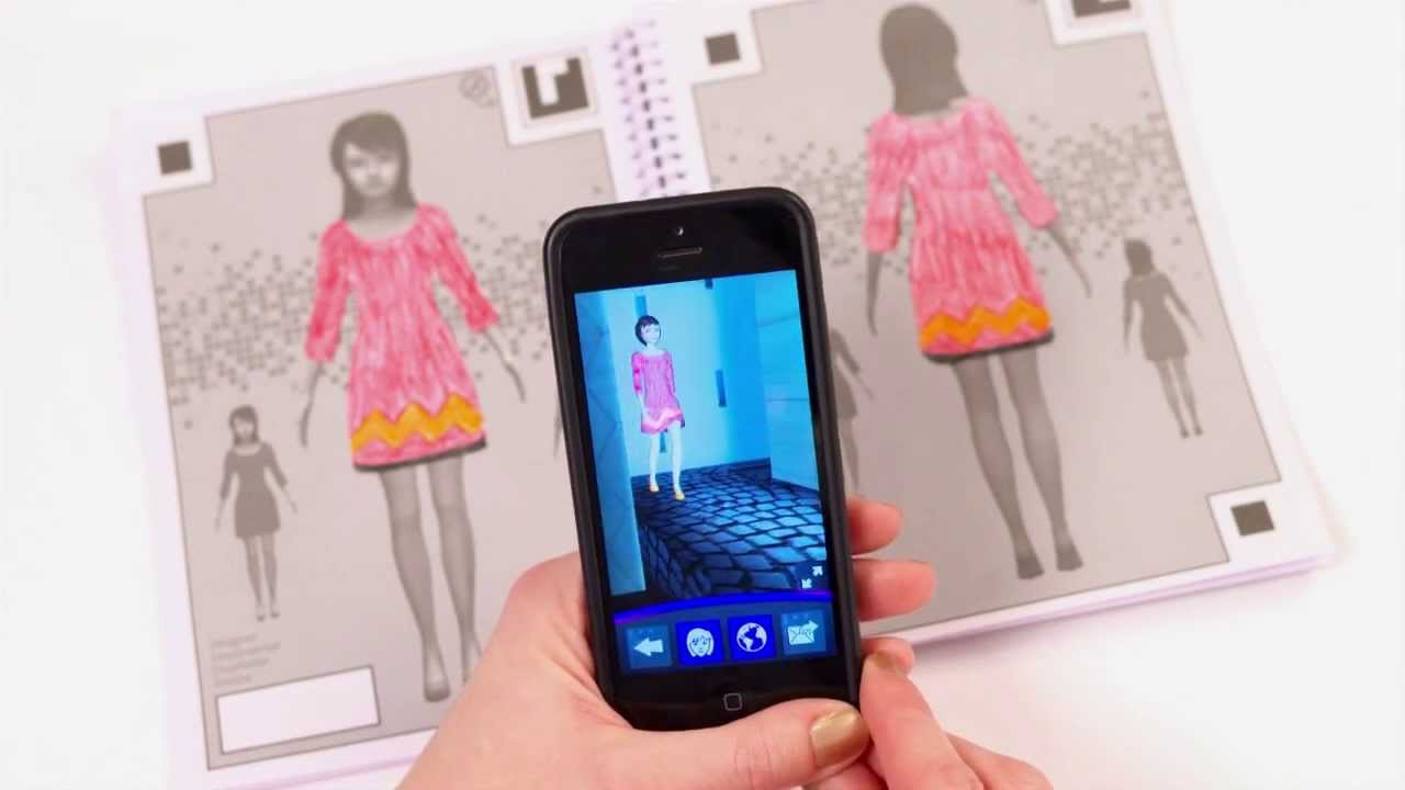My Virtual Fashion Show By Crayola Youtube