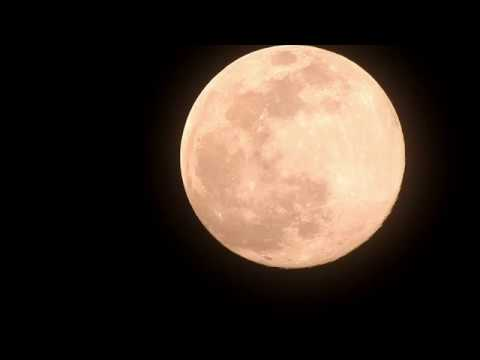 Supermoon Video taken on 7th April 2020