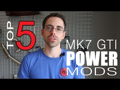 Top 5 MK7 GTI Power Mods