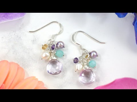 How to Make Jewelry: Tutorial for Beginners (Part 2 of 4) DIY EARRINGS