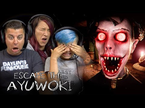 IM DEAD! Michael Jackson The Horror Game Is The Scariest Thing EVER!! Escape The Ayuwoki