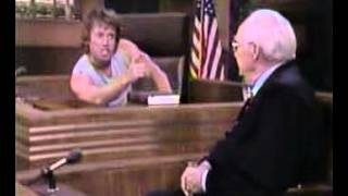 The Judge TV Show  (An Explosive Situation) Man brings a bomb and holds the court hostage.