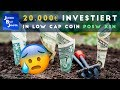 20000€ in low cap Coin posw/xsn investiert