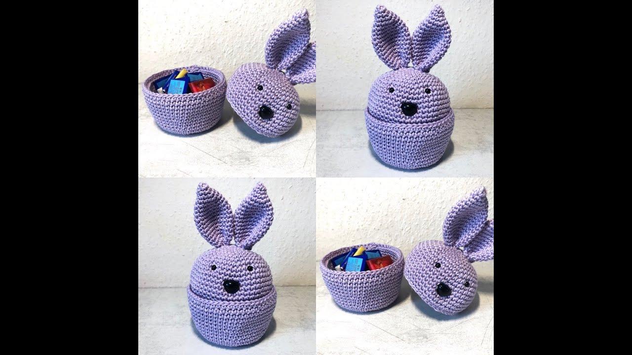 Tuto hochet lapin au crochet 3,5mm - YouTube | 720x1280