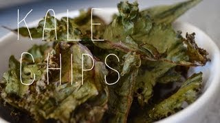 healthy snacks // kale chips Thumbnail