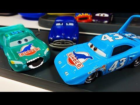 Тачки Маквин Новые серии Мультики про Машинки для детей Гонки Авария Disney Cars McQueen