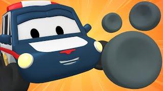 Die winzige Stadt -  Reifen für Matt - Lerne mit den kleinen Trucks | Lehrreiche Cartoons für Kinder
