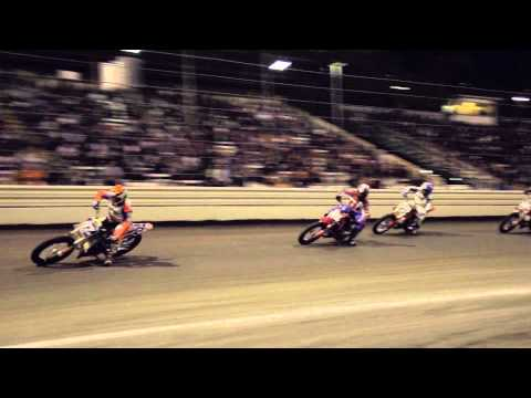 Davis Fisher Earns First AMA Pro Flat Track Victory at Calistoga Half-Mile