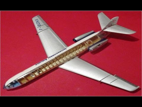 How to Build the Caravelle French Airliner Lindberg 1:96 Scale Model Kit #HL513 Review