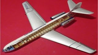 How to Build the Caravelle French Airliner Lindberg 1:96 Scale Mode...