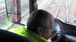 Rodoferroviário com Hi-Rail móvel facilita colocação em PN muito legal
