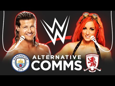 WWE ALTERNATIVE MAN CITY COMMENTARY | Dolph Ziggler & Becky Lynch!