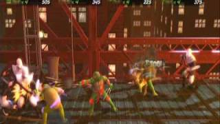 TMNT Turtles in Time Reshelled Online 4 Player Gameplay (1 of 6) Full Story Mode on Hard