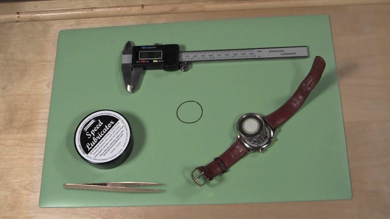 How to Replace a Watch Back Gasket - YouTube