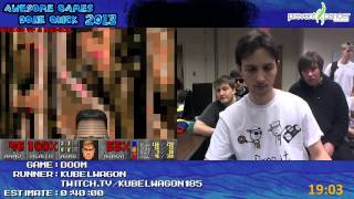 Doom - Speed Run in 0:31:54 by Kubelwagon *Live at Awesome Games Done Quick 2013 [PC]