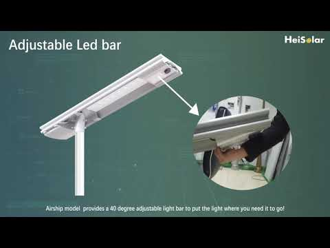 AS Integrated /All in One Solar Street Light overview