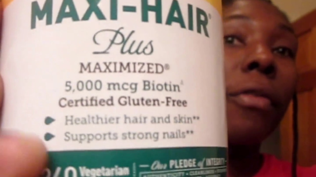 VITAMIN HAIR JOURNEY WITH SIDE EFFECTS - HAIRFINITY-BIOTIN- MAXI ...