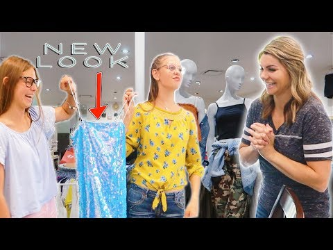 Teens In CHARGE of Buying Outfit For Mom's New LOOK!