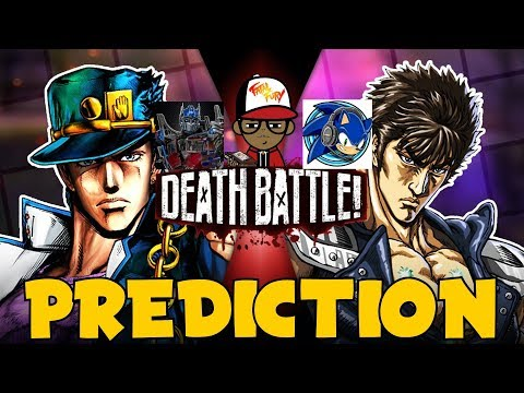 JOTARO vs KENSHIRO!!! | DEATH BATTLE Prediction