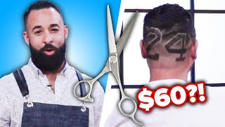 Barbers Guess Who Has The Most Expensive Haircut