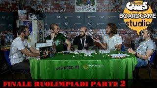 Lucca Comics & Games] Boardgame Studio: Finali Ruolimpiadi 2017 Parte 2