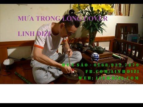 Mưa trong lòng   Sáo Trúc cover   Linh Dizi