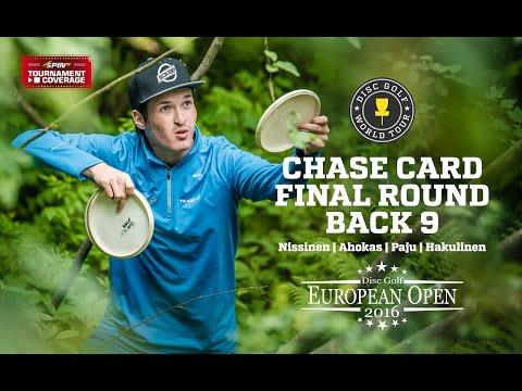 DGWT EO2016 Round 3 - Chase Card, Back 9 (Nissinen, Ahokas, Paju, Hakulinen)