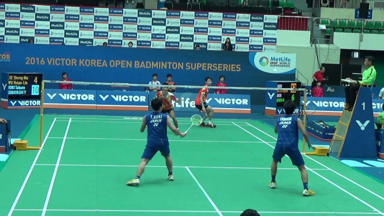 Victor Korea Open 2016 Badminton R16 MD