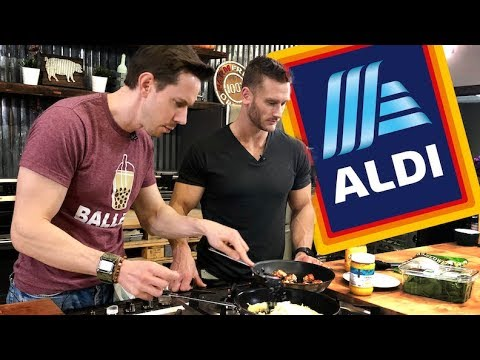 Cooking Keto Breakfast Recipes from our Aldi Grocery Haul - Part 2 with FlavCity