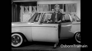 """1961 Studebaker Lark Hardtop Commercial - Featuring Connie Hines """"Ditch your Husbands"""""""