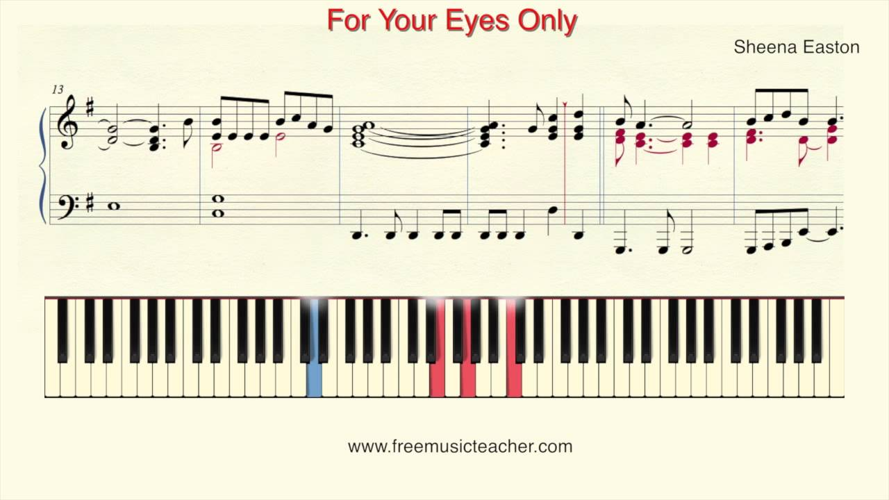 How to play with your eyes